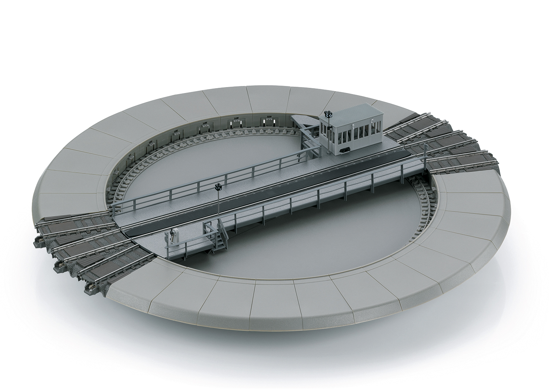 TRIX C-rail draaischijf